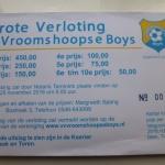 Uitslag grote verloting Vroomshoopse Boys 2016 is bekend