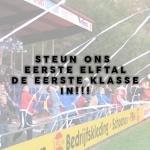 Spelregels voor het publiek bij voetbalderby Vroomshoopse Boys vv Den Ham